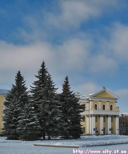 Площа С.П.Корольова в Житомирі