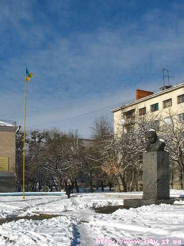 Пам'ятник Т.Г.Шевченку в Житомирі
