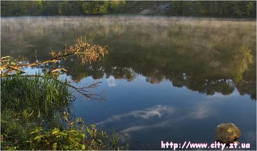 Річная красота Житомира