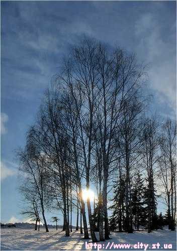 Зима в Житомирі!