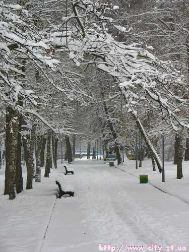 Зимній парк
