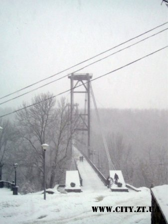 Міст над каньйоном Тетерева Житомир