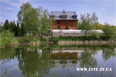 Наукова станція в ботанічному саду Житомирського агроуніверситета.